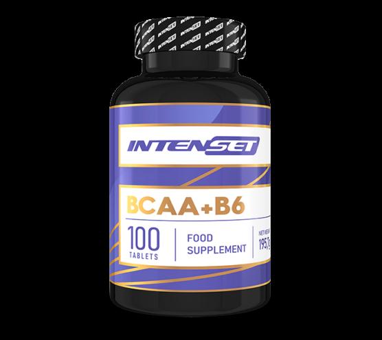 Intenset BCAA+B6 - 100 db