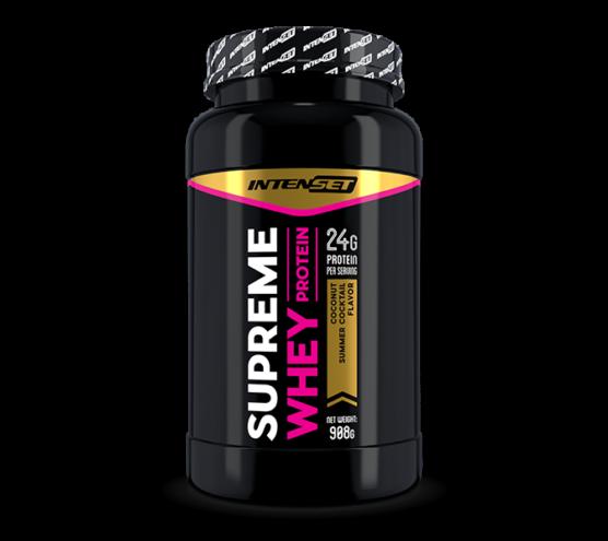 Intenset Supreme Whey protein fehérje Kókusz Koktél 908g