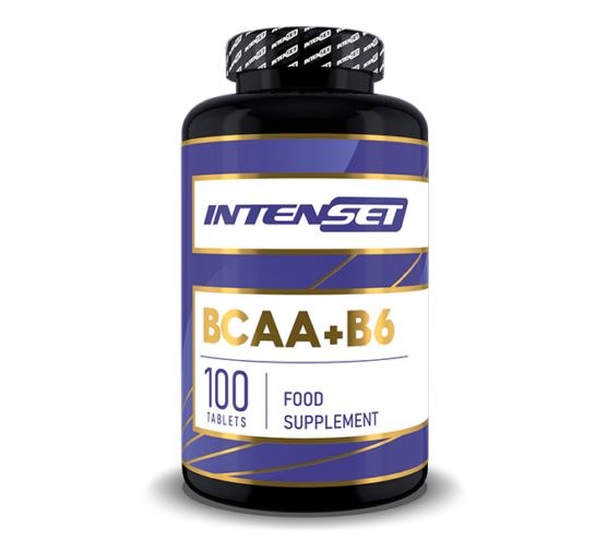 Intenset BCAA+B6 - 100 db