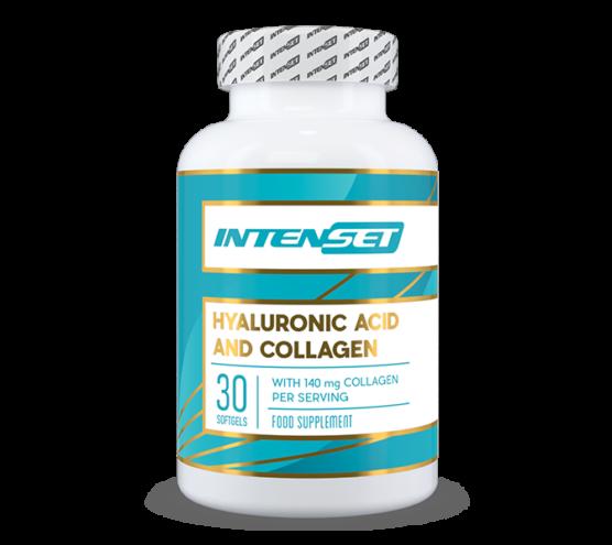 Intenset Hyaluronic & Collagen hialuron sav és kollagén táplálék kiegészítő