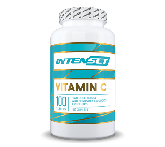 Intenset C-Vitamin 1000 mg bioflavonoiddal - 100 db