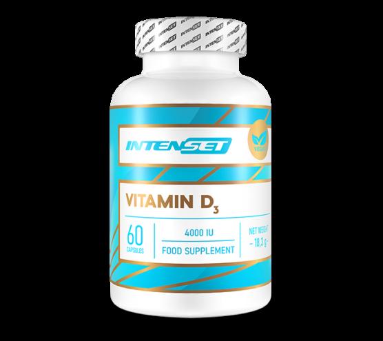 Vitamin D3 4000 IU Vegán - 60 db