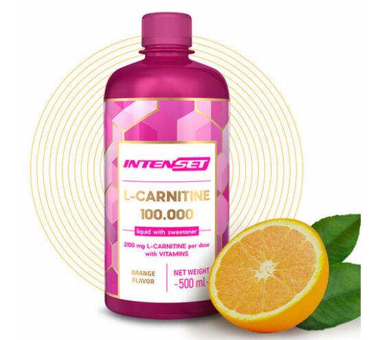 Intenset L-Carnitine edzés előtti narancsízű ital 500ml